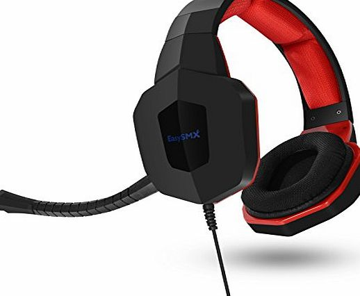 EasySMX [Thanksgiving Christmas] EasySMX Xbox One PS4 gaming headset works perfectly for PS4 and mobile phone, provided with a splitter cable for use with PC. It can be used for Xbox One via an adapter (NOT I